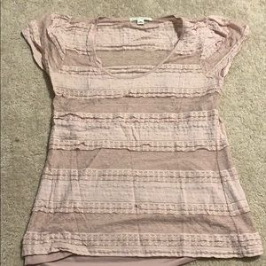Tank with lace tee over - adorable and feminine